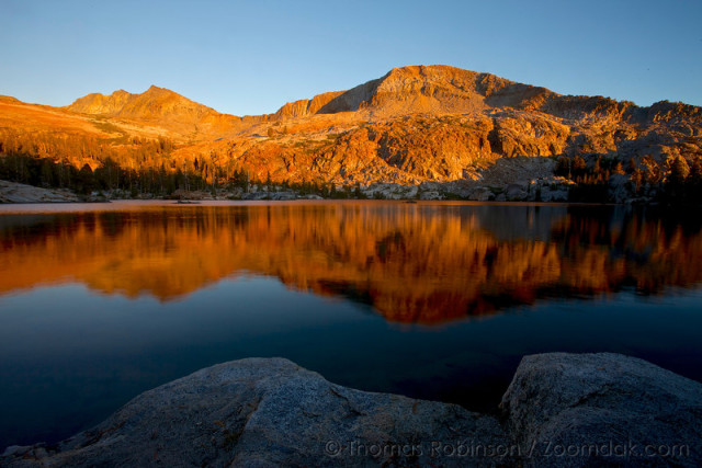 """Backcountry hiking in Yosemite National Park, California. """