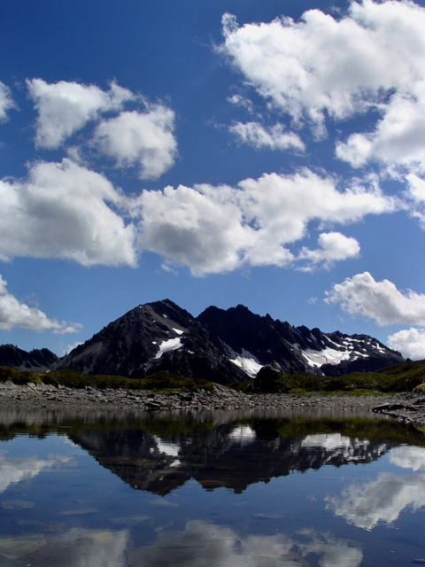 Cumulus Clouds over Olympic National Park